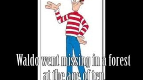 Thumbnail for entry Where's Waldo - WSCN (2009-2010)