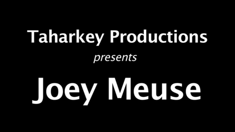 Thumbnail for entry Joey Meuse, The Boxer