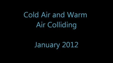 Thumbnail for entry Warm Air Cold Air