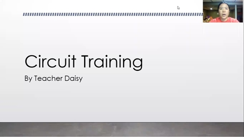 Thumbnail for entry Circuit Training Workout 6-8