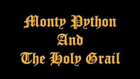 Thumbnail for entry Monty Python & the Holy Grail