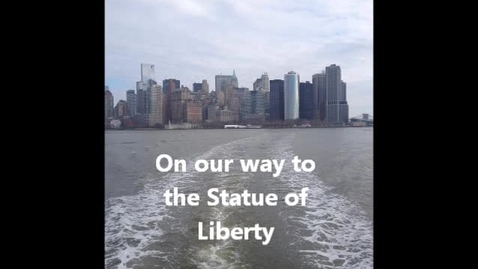 Thumbnail for entry Pontiac FFA Chapter Exchange 2014 - Statue of Liberty, New Jersey