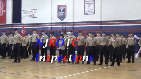 Thumbnail for entry NJROTC Annual Inspection