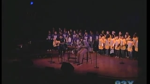 "Thumbnail for entry ""ONE DAY"" Matisyahu, DP Dave Holmes & PS22 Chorus at 92nd Street Y (PRO SHOT!!)"