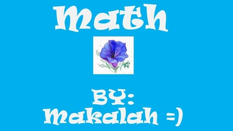 Thumbnail for entry math