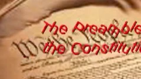 Thumbnail for entry The Preamble
