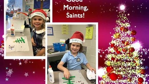 Thumbnail for entry Saints @ 8 - December 8, 2020