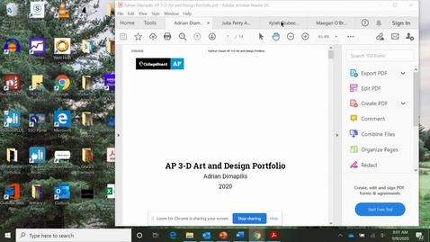 Thumbnail for entry Sample Portfolio videos