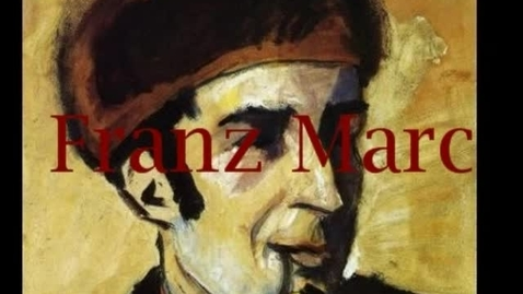 Thumbnail for entry Franz Marc