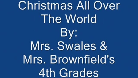 Thumbnail for entry Christmas All Over The World