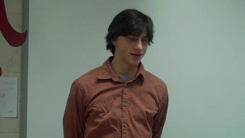 Thumbnail for entry Spring 2012 -- Using a Joke to Teach a Lesson -- Adrian Kohann -- Mr. Gilbert's class