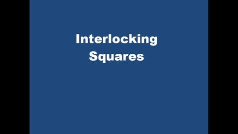 Thumbnail for entry interlockingsquares