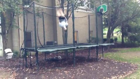 Thumbnail for entry Dylan Stern : Trampoline Expert