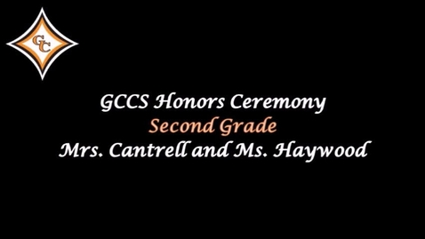 Thumbnail for entry Second Grade Honors Day Awards.mp4