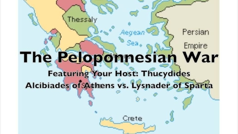 Thumbnail for entry The Peloponnesian War- Athens vs. Sparta