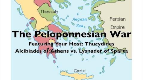 Thumbnail for entry The Peloponnesian War- Athens vs. Sparta