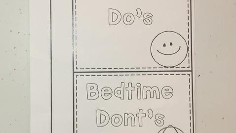 Thumbnail for entry Bedtime Do's & Don't's