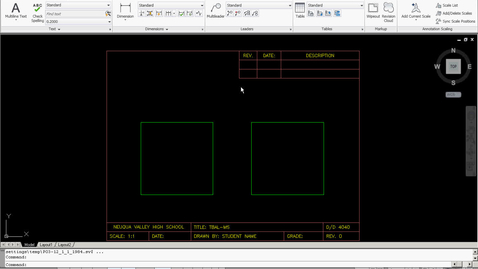 Thumbnail for entry Mechanical Drawing Dimension Style Set-Up Video Tutorial (AutoCAD 2011)
