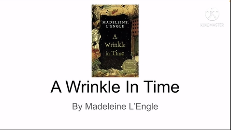 Thumbnail for entry L'Engle, Madeline - A Wrinkle in Time