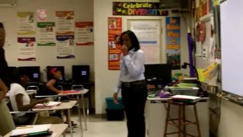 Thumbnail for entry Tamara Whittington: Tangipahoa Parish Middle School Teacher of the Year
