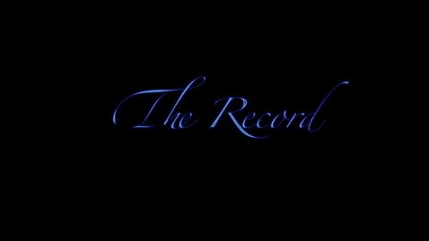 Thumbnail for entry The Record