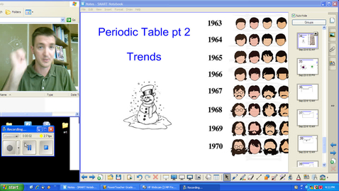 Thumbnail for entry 1.10 - Periodic Table pt 2 - Trends