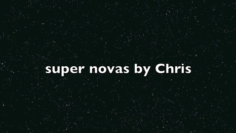 Thumbnail for entry Supernova by Chris