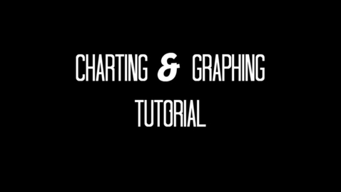 Thumbnail for entry Charting and Graphing Tutorial