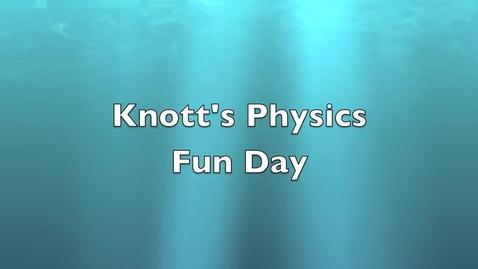 Thumbnail for entry Knott's Prep Video
