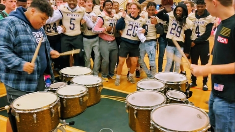 Thumbnail for entry Most Hyped JIG 2 at Pep Rally