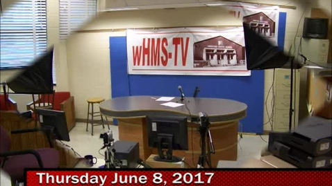 Thumbnail for entry 6-7-17 WHMS Morning News HMS BCPS