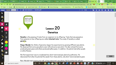 Thumbnail for entry Genetics reading
