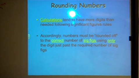 Thumbnail for entry Unit 5 Rounding Numbers Part 4