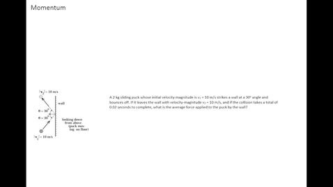 Thumbnail for entry AP Physics C - Mechanics Momentum