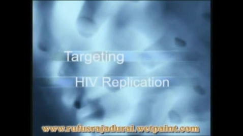 Thumbnail for entry HIV Replication 3D Medical Animation