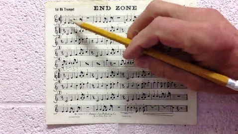 Thumbnail for entry End Zone 1st trumpet pt 1