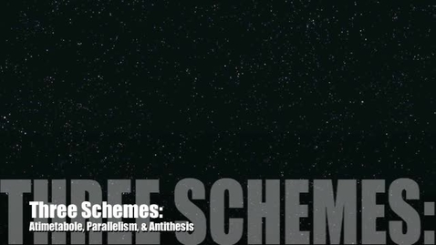 Thumbnail for entry Schemes: Balance 2