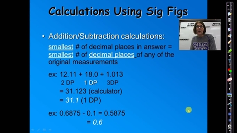 Thumbnail for entry Unit 1: Calculations Using Significant Figures
