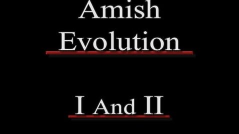 Thumbnail for entry Amish Evolution I and II scooters