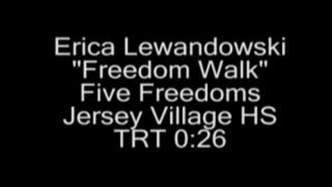 Thumbnail for entry Freedom Walk