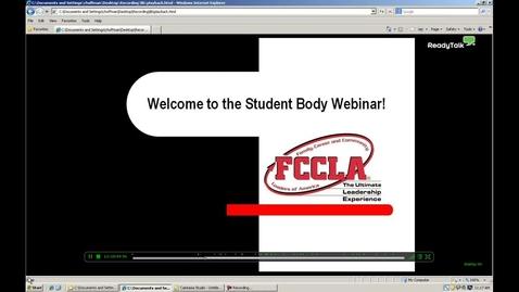 Thumbnail for entry FCCLA Student Body