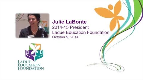 Thumbnail for entry Julie LaBonte - LEF address