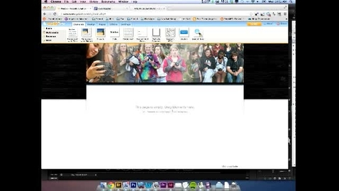Thumbnail for entry Weebly Training - Posting Files and Creating Hyperlinks
