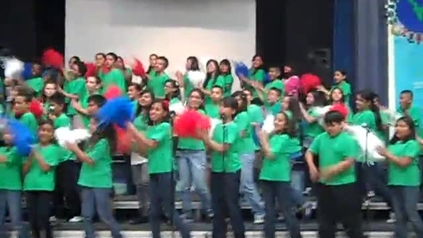 """Thumbnail for entry Grant Elementary Chorus """"Agents of Change"""""""