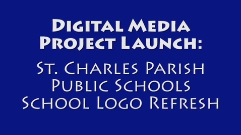 Thumbnail for entry Project Launch: SCPPS Web Logos Project Launch AM Class