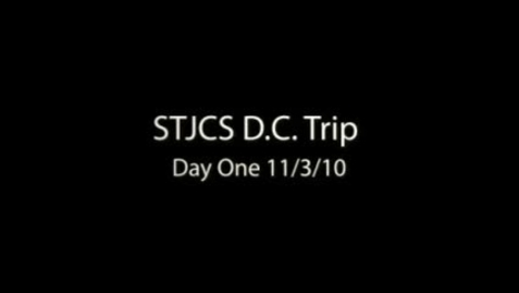 Thumbnail for entry STJCS DC Trip Day 1