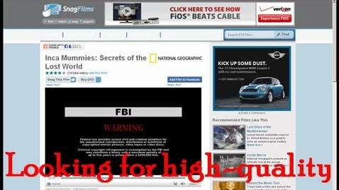 Thumbnail for entry Snag Films Media Minute