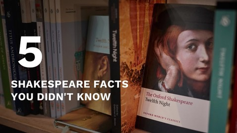 Thumbnail for entry SchoolTube's 5 Shakespeare Facts You Didn't Know