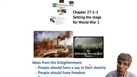 Thumbnail for entry Setting the Stage for World War 1 (27.1-2)