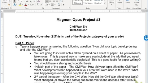 Thumbnail for entry Magnum Opus 3 Instructions